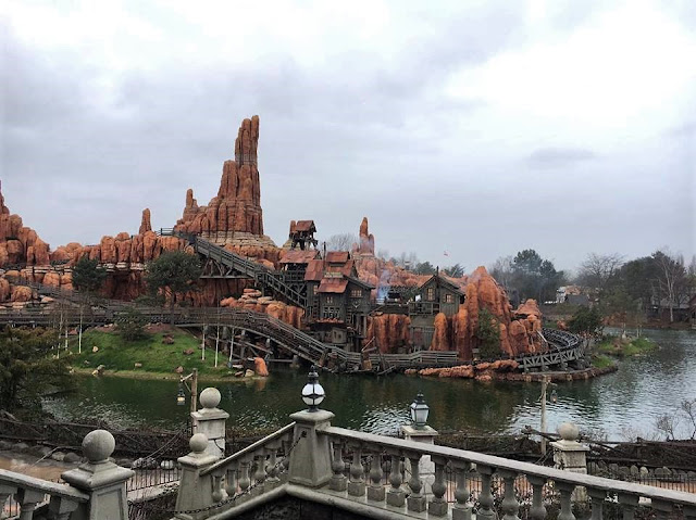 Big Thunder Mountain Frontierland Disneyland Paris