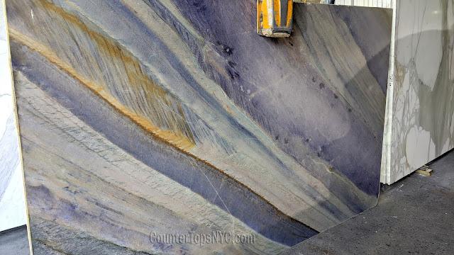 Azul Macaubas Quartzite Slabs NYC