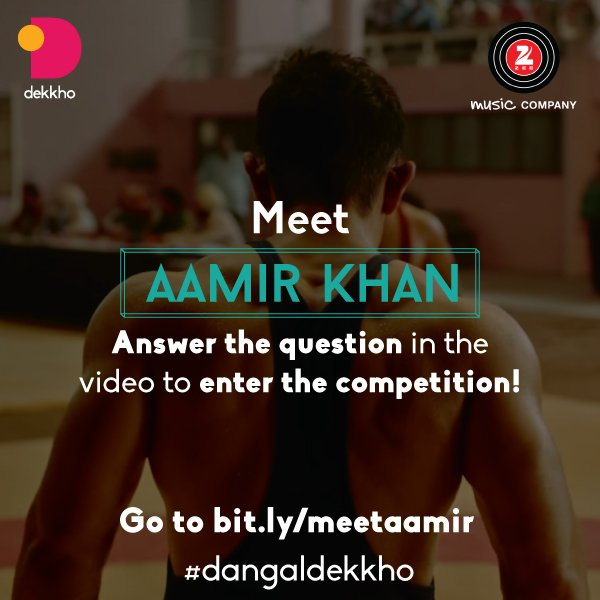This is your chance to meet Aamir Khan!