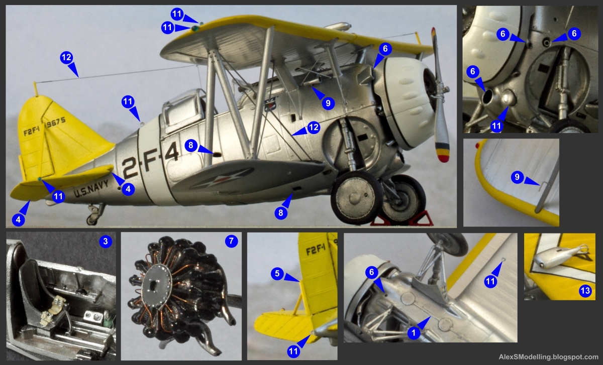Alexs Scale Aircraft Modelling Wiring Books As A Prototype For My Model I Wanted An Covered By Good Historical Photographs With Some Hopefully In Color These Criteria Are Met The F2f 1