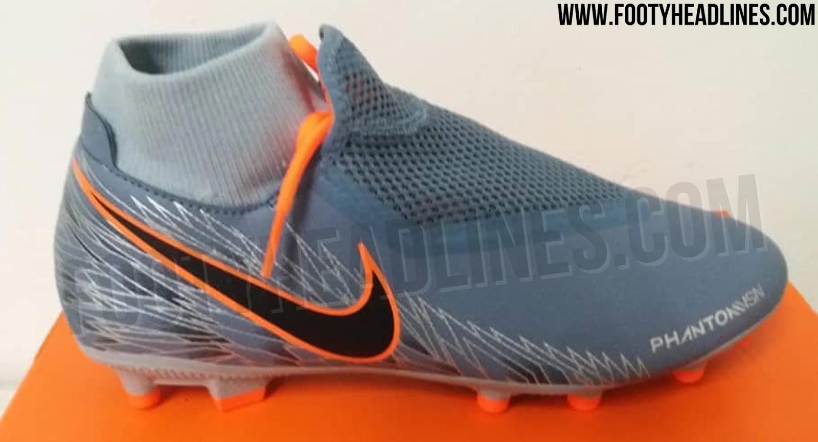 Unique Armory Blue Orange Nike Phantom Vision 2019 Boots Leaked