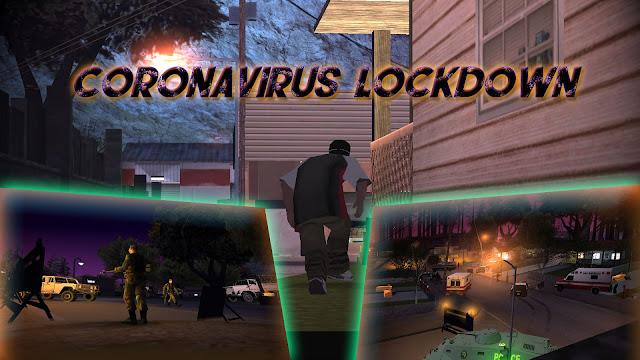 GTA San Andreas Coronavirus Lockdown Mod