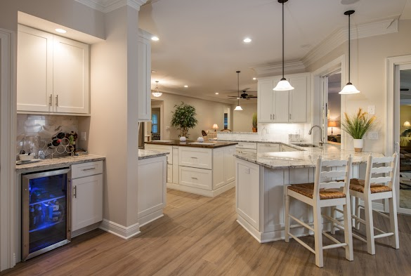 The Combination of Colors and Lighting for Kitchen Design, Kitchen Color Ideas for Small Kitchens
