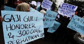 Dari 773 ribu Guru Honorer, cuma separuh yang profesional. Kompetensi Guru Indonesia - Info Madrasah
