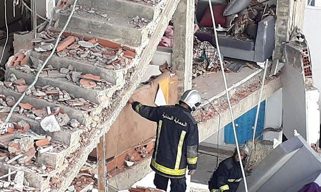 وفاة إمرأة في حادث إنفجار قارورة غاز داخل منزل بحي الزهور