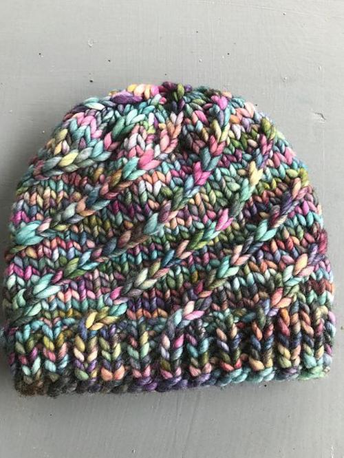 Mega Spun - Knitting Pattern