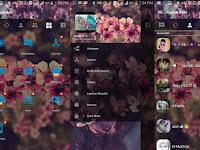 BBM MOD Flower Pink Apk v3.2.0.6 Full DP Terbaru