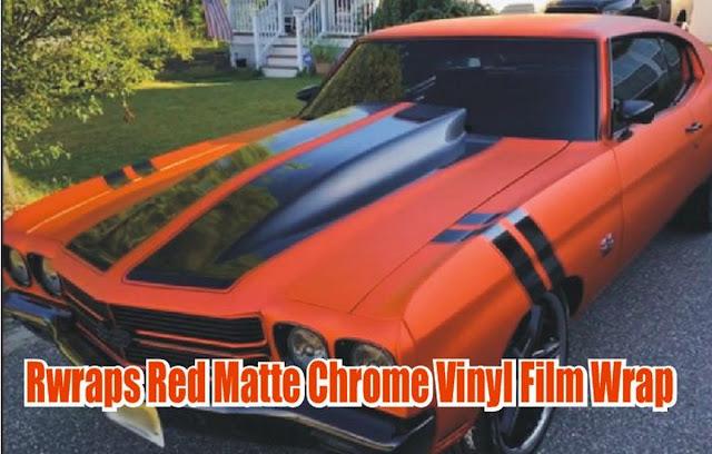 chrome-merah-doff