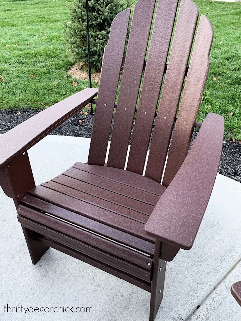 POLYWOOD Adirondack chair review