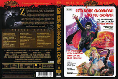 Filme Esta Noite Encarnarei no Teu Cadáver DVD Capa