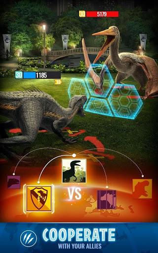 Jurassic World Alive v 2.0.38 MOD APK (MEGA MOD VIP MENU)
