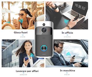 video citofono porta ip wifi wireless