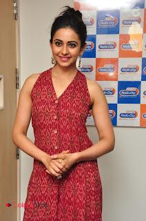 Actress Rakul Preet Singh Latest Pictures at Radio City  0113.JPG