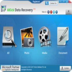 تحميل AKICK DATA RECOVERY استعادة الملفات المحذوفة بسهولة