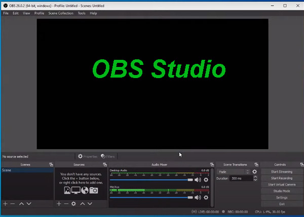 Tải OBS Studio 64bit - Quay màn hình, live stream Facebook, Youtube đơn giản b