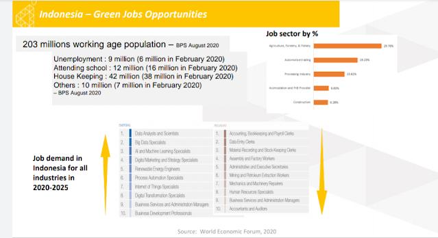 Peluang green jobs di indonesia