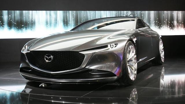 Toàn bộ sản phẩm thế hệ 7G của Mazda đều giống như thiết kế của Vision Coupe, Mazda6 2020 cũng vậy.