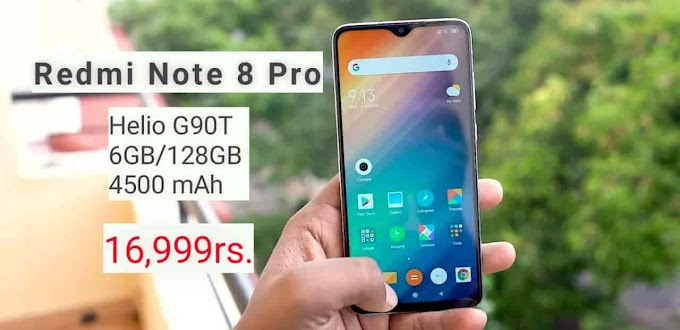 Redmi Note 8 and Note 8 Pro launched at rs. 9,999