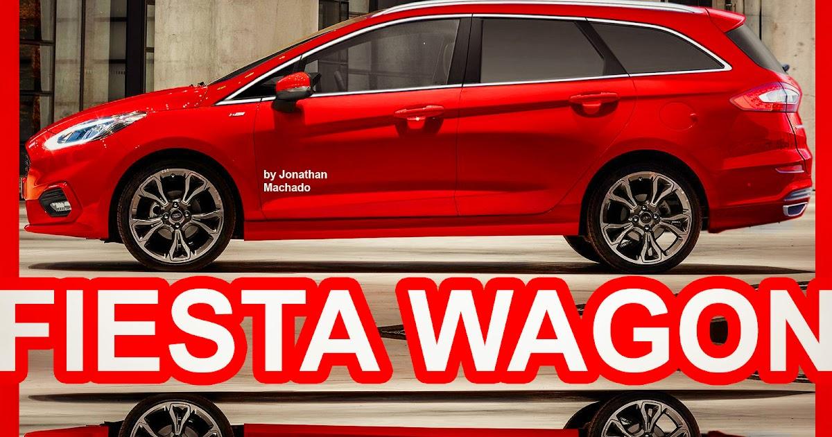 CARWP: PHOTOSHOP New 2018 Ford Fiesta Wagon Next Generation @ 40th Anniversary #FordFiesta # ...