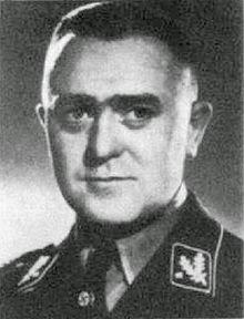 L'ufficiale polacco Jakob Sporrenberg