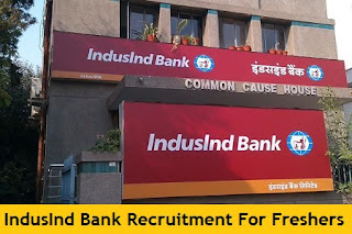 IndusInd Bank Recruitment