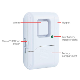 Wireless magnetic doorbell use with students who run/elope from classroom