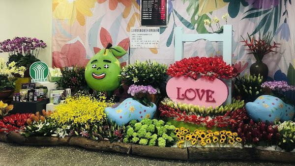 彰縣府美化辦公環境暨促銷花卉 農會花卉布置迎賓好吸睛