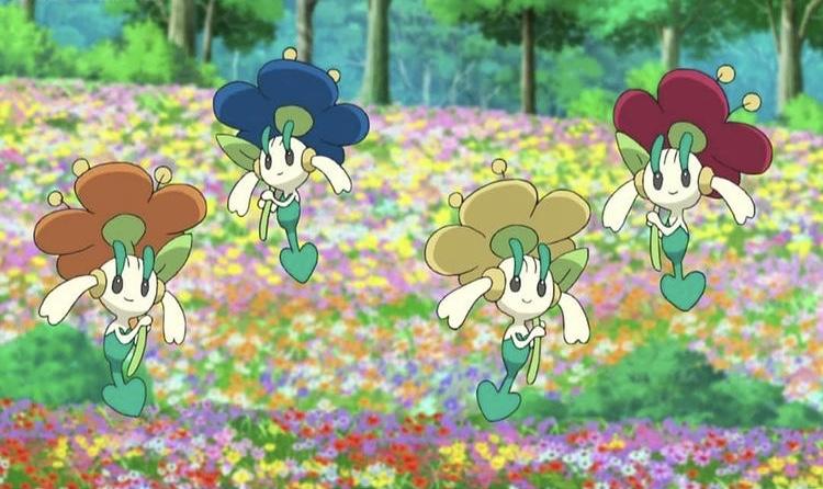 Most beautiful Pokemon flower designs