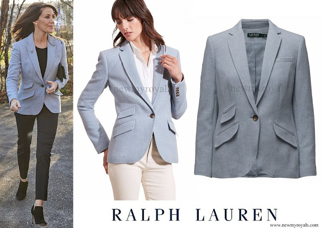 Princess Marie wore RALPH LAUREN Drosom Blazer
