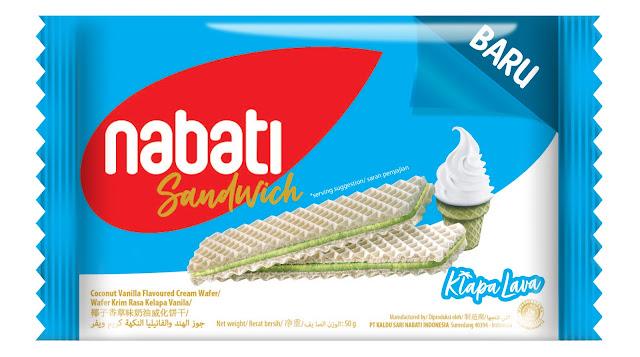 Nabati Sandwich Klapa Lava 50G