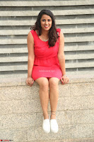 Shravya Reddy in Short Tight Red Dress Spicy Pics ~  Exclusive Pics 051.JPG