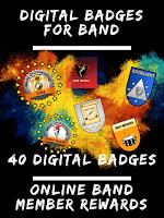 40 Digital Badges for Band Programs
