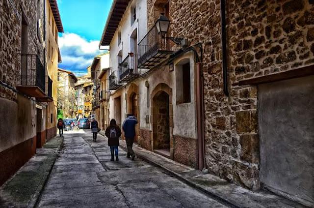 Calle Villanueva, efecto pintura