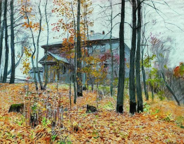 Исаак Ильич Левитан - Осень. Усадьба. 1894