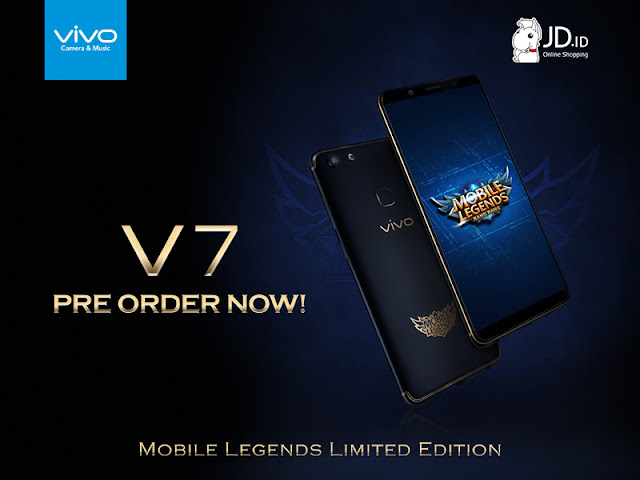 Vivo V-7, Edisi Eksklusif Mobile Legends yang Stylish