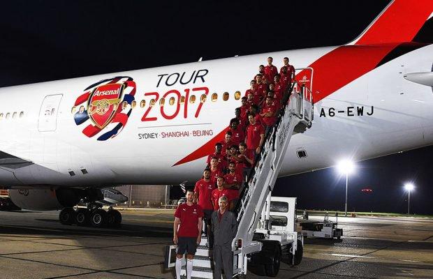 Arsenal 2017 pre-season tour