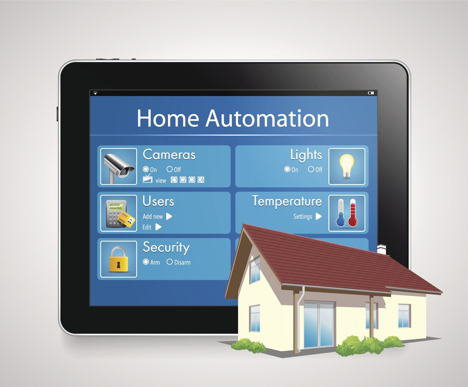Wireless Home Control System