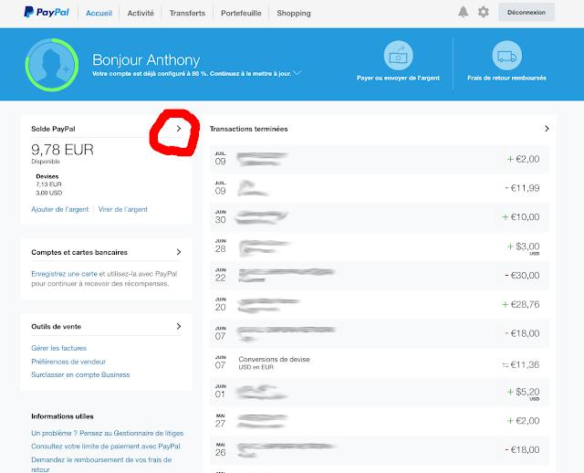 comment convertir des devises paypal