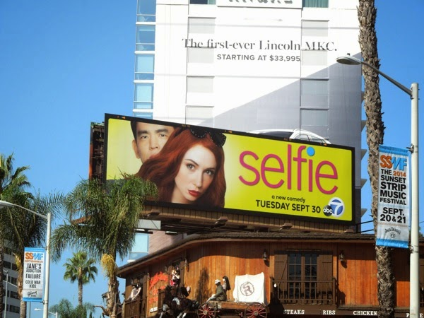 Selfie season 1 billboard Sunset Strip