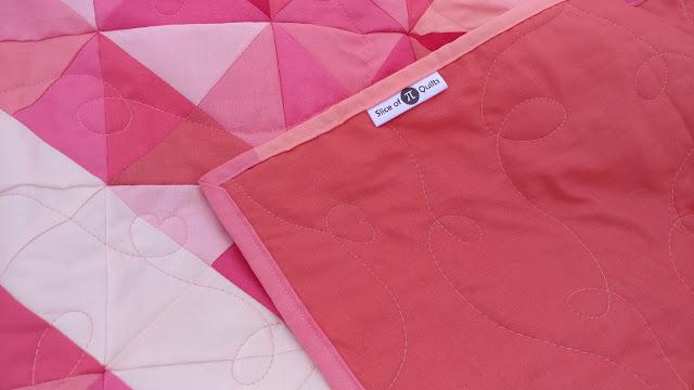 Satin quilt labels