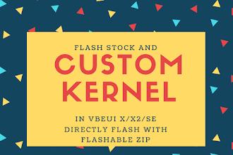 Custom & Stock Kernel for ROMs
