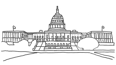 transmissionpress: Free Printable Washington DC Building