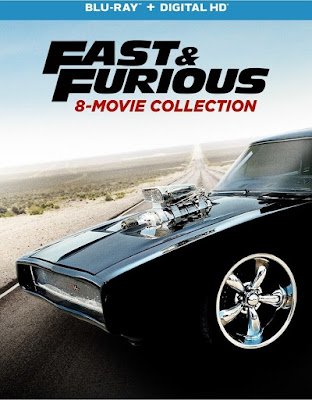 Fast & Furious Colección 8 x HD 1080p Latino