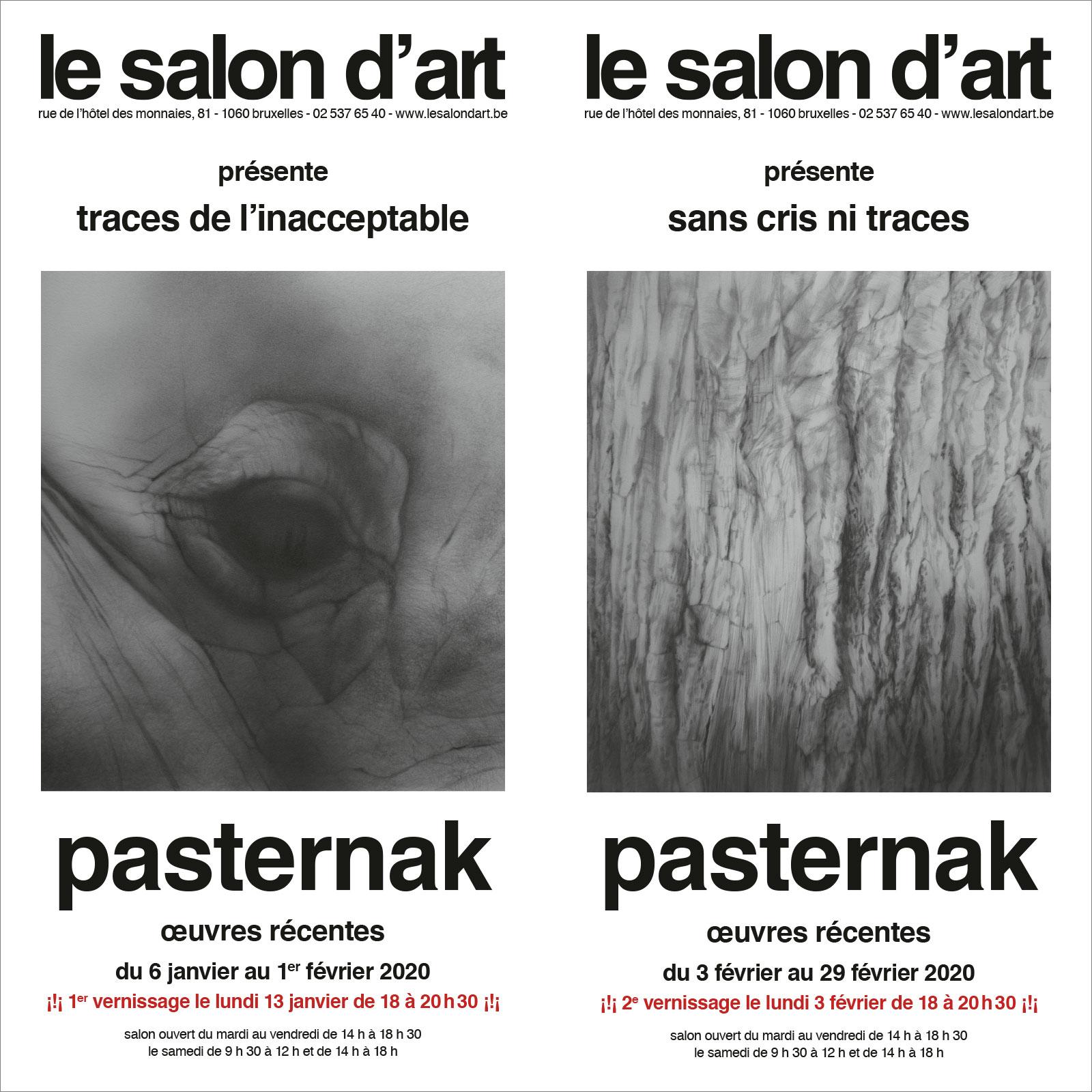 maurice pasternak exposition des œuvres récentes au salon d'art