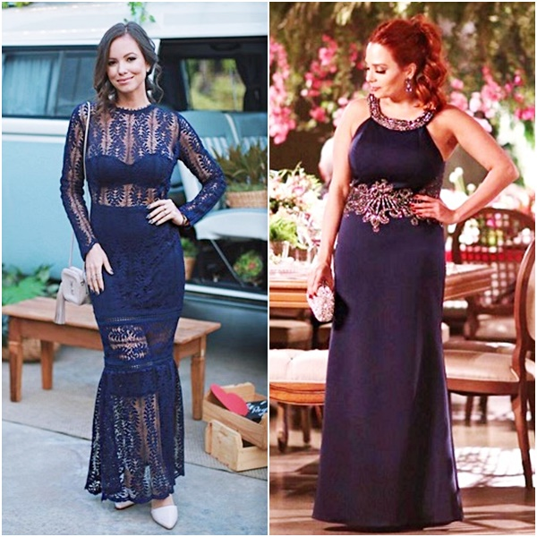 Casamento Niina Secrets: Look das Convidadas Ju Goes Claudinha Stoco Vestido Festa Azul