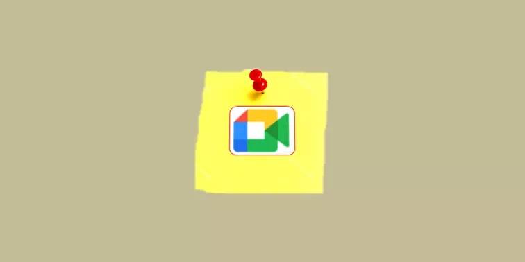 Cara Pin di Google Meet