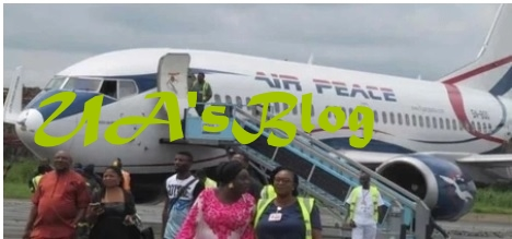 Robbers allegedly attack Air Peace aircraft at Lagos airport while taxiing for departure