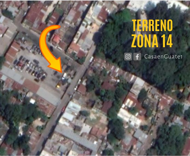 Terreno en venta zona 14