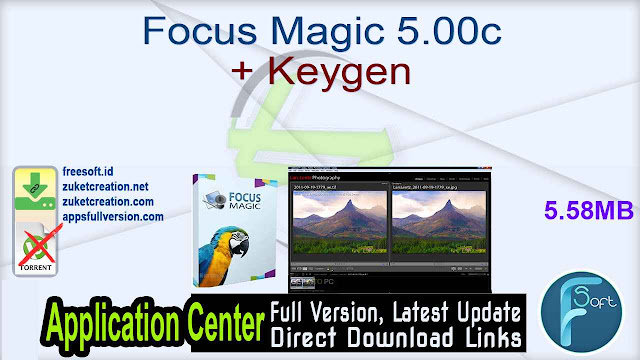 Focus Magic 5.00c + Keygen