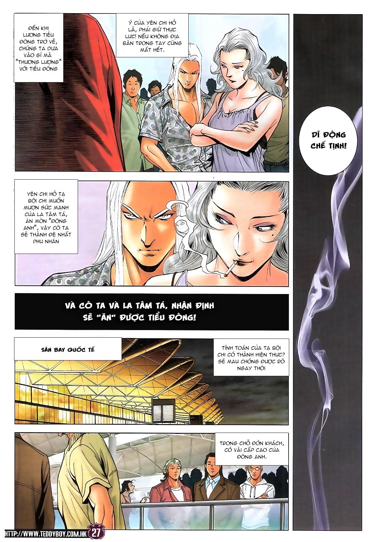 Người Trong Giang Hồ chapter 1724: tiểu đông trở về trang 25